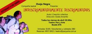 flyer-Indiscriminadamente-Discriminados