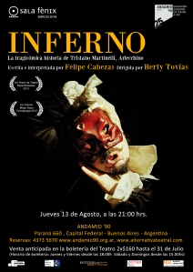 cartel INFERNO BA