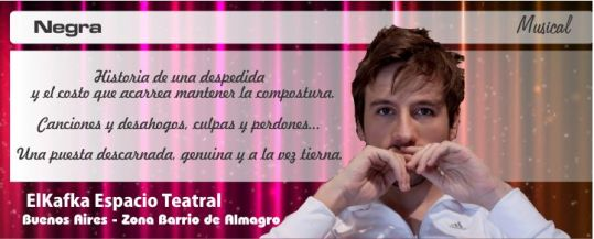 Negra-de-y-con-Dennis-Smith-ElKafka-Espacio-Teatral-Buenos-Aires-Zona-Barrio-de-Almagro-CLICK-aquí-para-+-info..