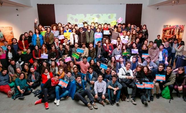 Grupal Bienalistas 2017 - Foto gentileza prensa Bienal Arte Joven Buenos Aires