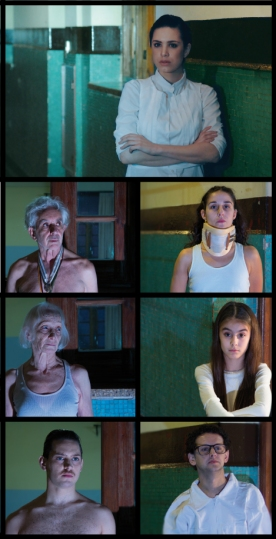 Elenco Los Pacientes_ Foto por Daniela García Dorato y Wily Poch